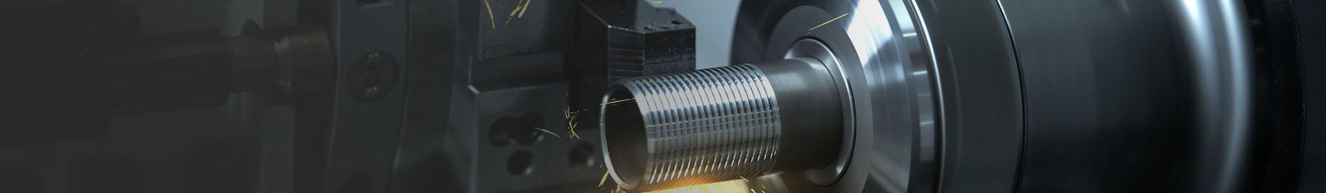 gwintowanie metalowej rury